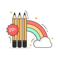 Pencilify Colors Icon