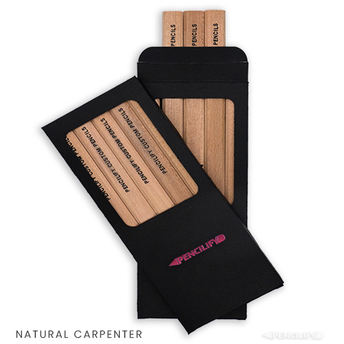 Pencilify Custom Carpenter Pencils with Box